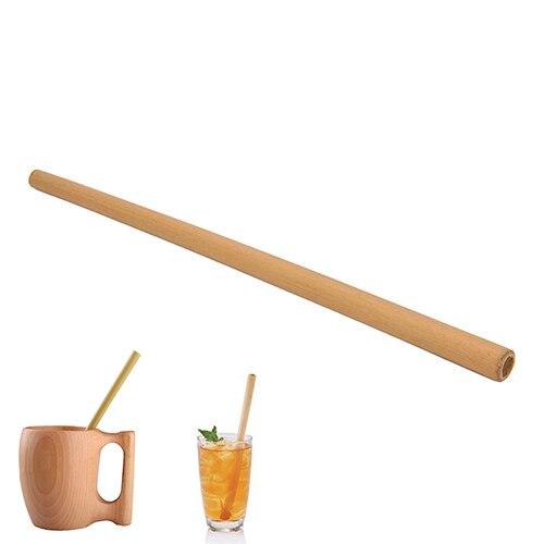 Новый органический бамбука питьевой соломы для вечеринки, дня рождения, свадьбы биоразлагаемые древесины столовая посуда из соломы оптова...