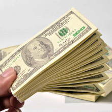 10 шт./партия, креативная смешная 100 долларов деньги бумажные салфетки с рисунком Толстая 3 слоя туалет для ванной платочки бумажные Бумага вечерние поставки