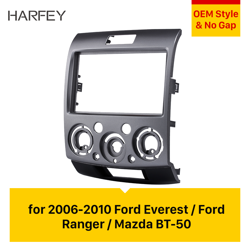 2DIN Car Radio Fascia Surround Trim Dash Kit for MAZDA BT-50 FORD Ranger//Everest