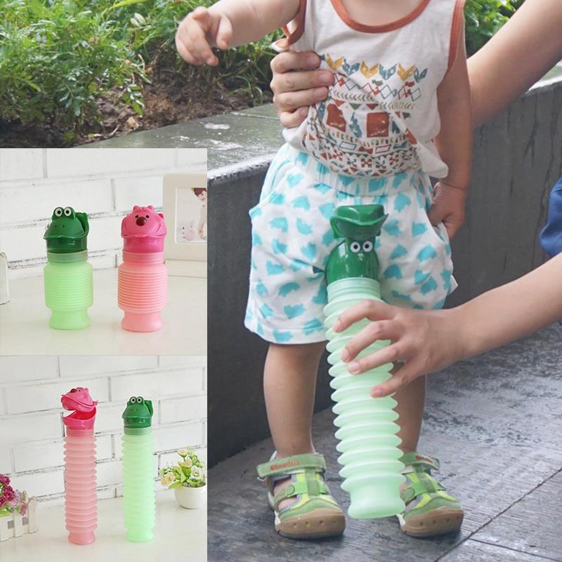 Portable Family Unisex Mini Toilet Urinal Bucket for Travel and Kid Potty Pee