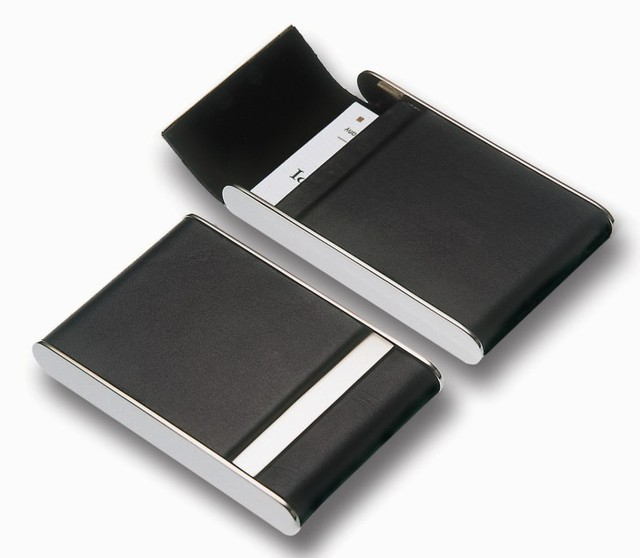 germany philippi genuine leather men ms creative business card case