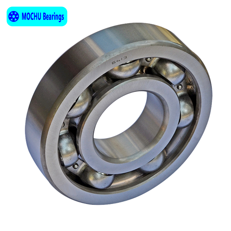 1pcs Bearing 6413 65x160x37 MOCHU Open Deep Groove Ball Bearings Single Row High Quality цена