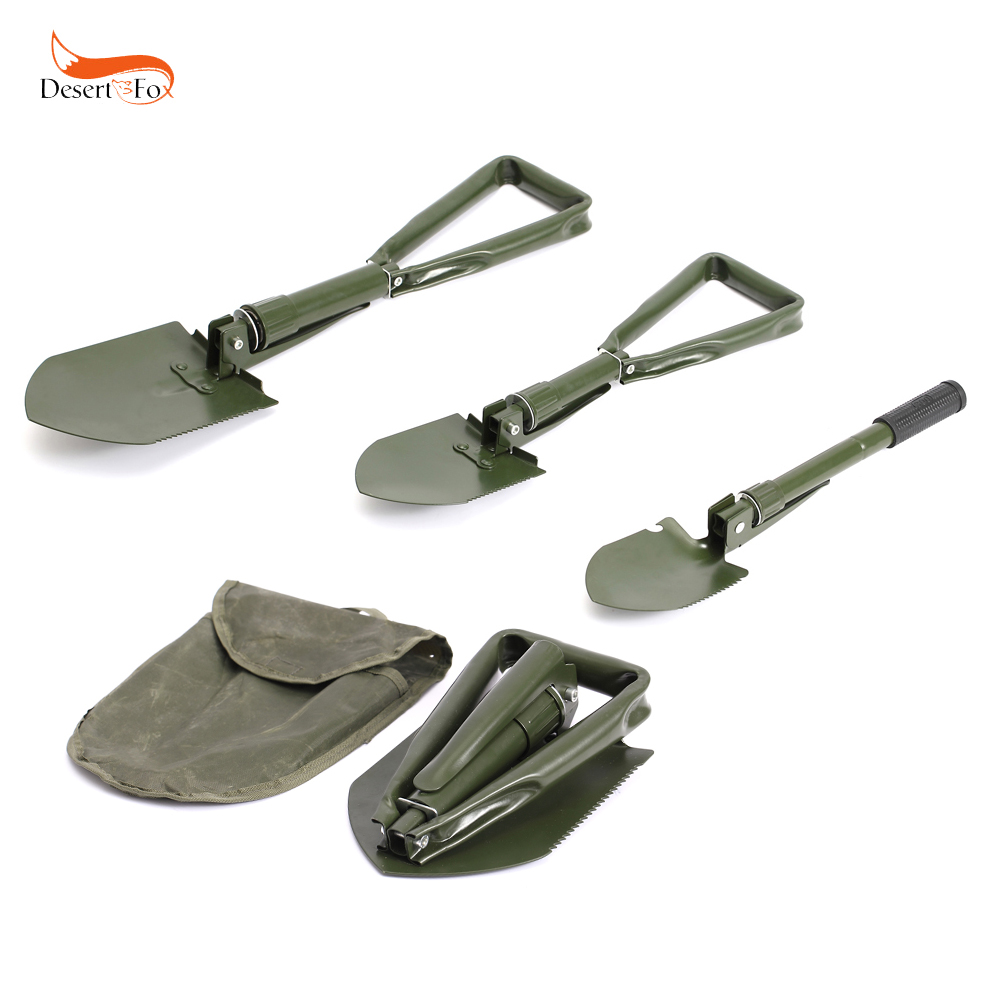 3 Size Multi-function Military Portable Folding Shovel Survival Spade Emergency Tool for Outdoor Camping 2017 hot selling professional military tactical multifunction shovel outdoor camping survival folding spade tool equipment
