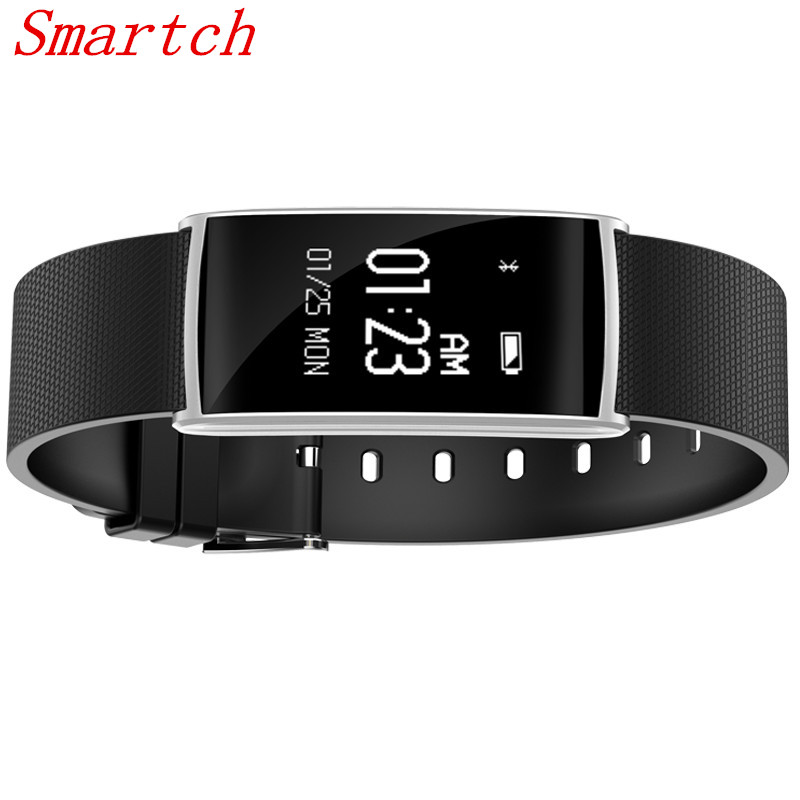 Smartch Smart Band N108 HR Bluetooth Wristband Heart Rate Monitor Fitness Tracker Pedometer Bracelet For iPhone
