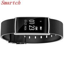 Smartch Smart Band N108 HR Bluetooth браслет монитор сердечного ритма фитнес-трекер Шагомер Браслет для iPhone/Xiaomi Smart ИМР