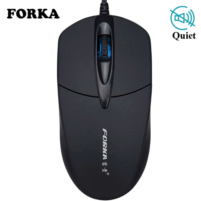 FORKA USB Wired Mouse 1200DPI Adjustable USB 3.0 Receiver Optical Computer Mouse 2.4GHz Ergonomic Mice For Laptop PC Mouse