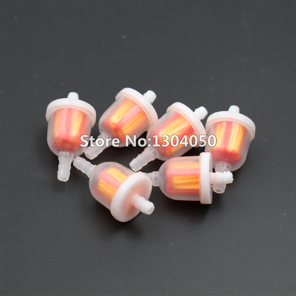sunl atv fuel filter 6pc universal gas fuel filter go kart moped scooter dirt bike atv  gas fuel filter go kart moped scooter