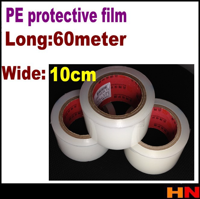 3pcs 10cm 60m High Quality screen LCD vacuuming Sticky gray tape sticky dust film sticky dust