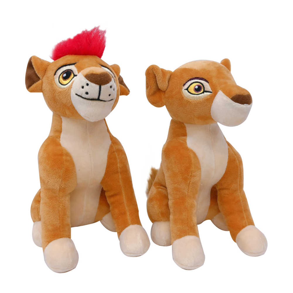 New Lion Dolls Lion King Plush Toys Soft Stuffed Toys Stuffed Animals Doll with Red Hair Educational Toy For Children Gifts