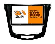 7.1.2 ocho Core Android 2 GB RAM OTOJETA dvd del coche PARA Nissan x-trial Xtrial 2013 + pantalla táctil stereo radio gps 1080 P WIFI 3G/4G
