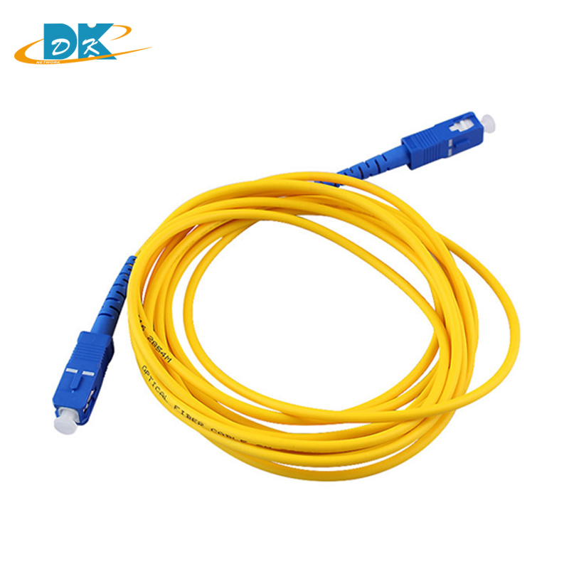 50PCS 3M LC-LC Simplex 9//125 SingleMode SM Fiber Optic Cable Patch Cord Jumper