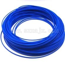 1 метр RG405 радиочастотный коаксиальный кабель соединитель полужесткая синяя кожа RG-405 коаксиальный косичка Быстрая
