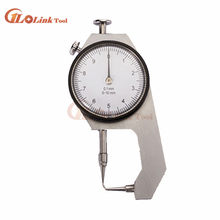 Hoge Kwaliteit Dial Dikte Gauge Gebogen Tip 0-10 Mm/0-20 Mm Voor Holle Pijp Of ronde Buis Schuifmaat Meetinstrumenten