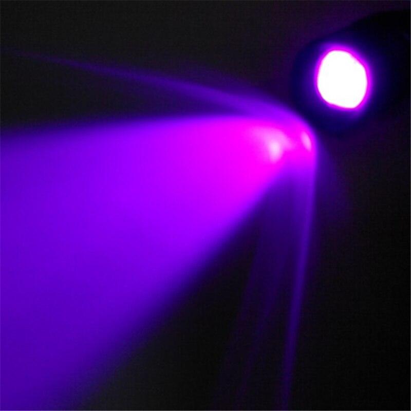 portable uv flashlight violet light. Black Bedroom Furniture Sets. Home Design Ideas