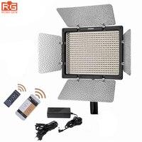 YONGNUO yn600l II Светодиодный свет Панель 3200 5500 К + AC Адаптеры питания Беспроводной Bluetooth 2.4 г Remote App управление