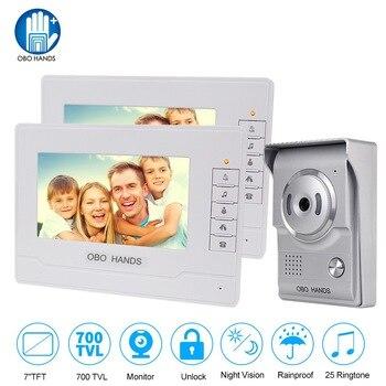 Waterproof Outdoor Home Intercom - LCD Screen