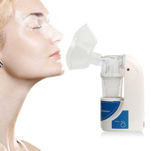 Asthma Inhaler Nebulizer Children and Adult Health Care Medical Treatment Nebulizer Portable Medical Ultrasonic Inhale Atomizer