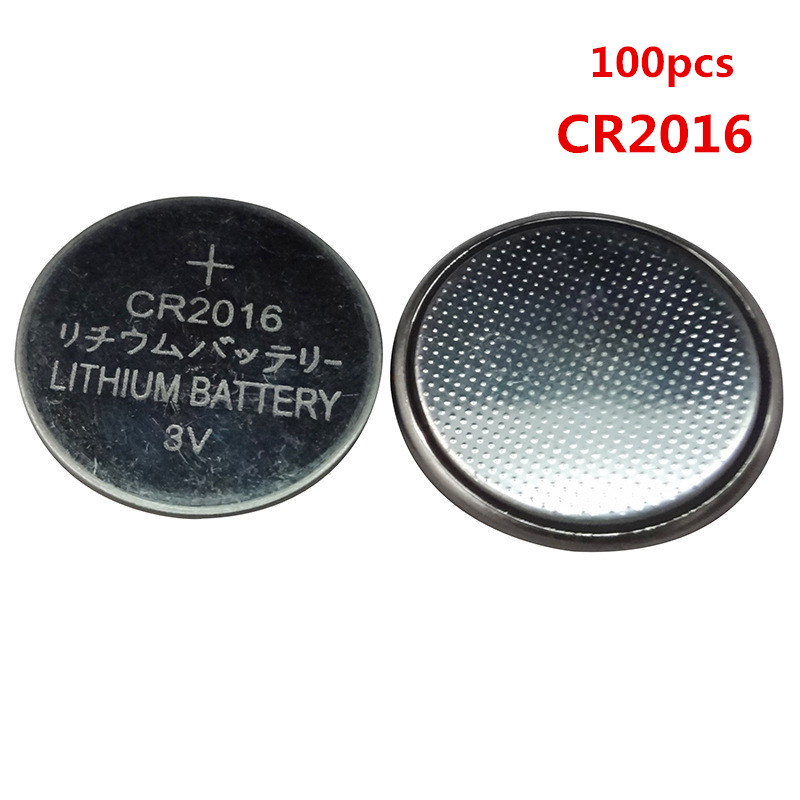100PCS/lot Hot selling CR 2016 3V Lithium Coin Cells Button Battery DL2016 KCR2016 CR2016 LM2016 BR2016 EE6225 image