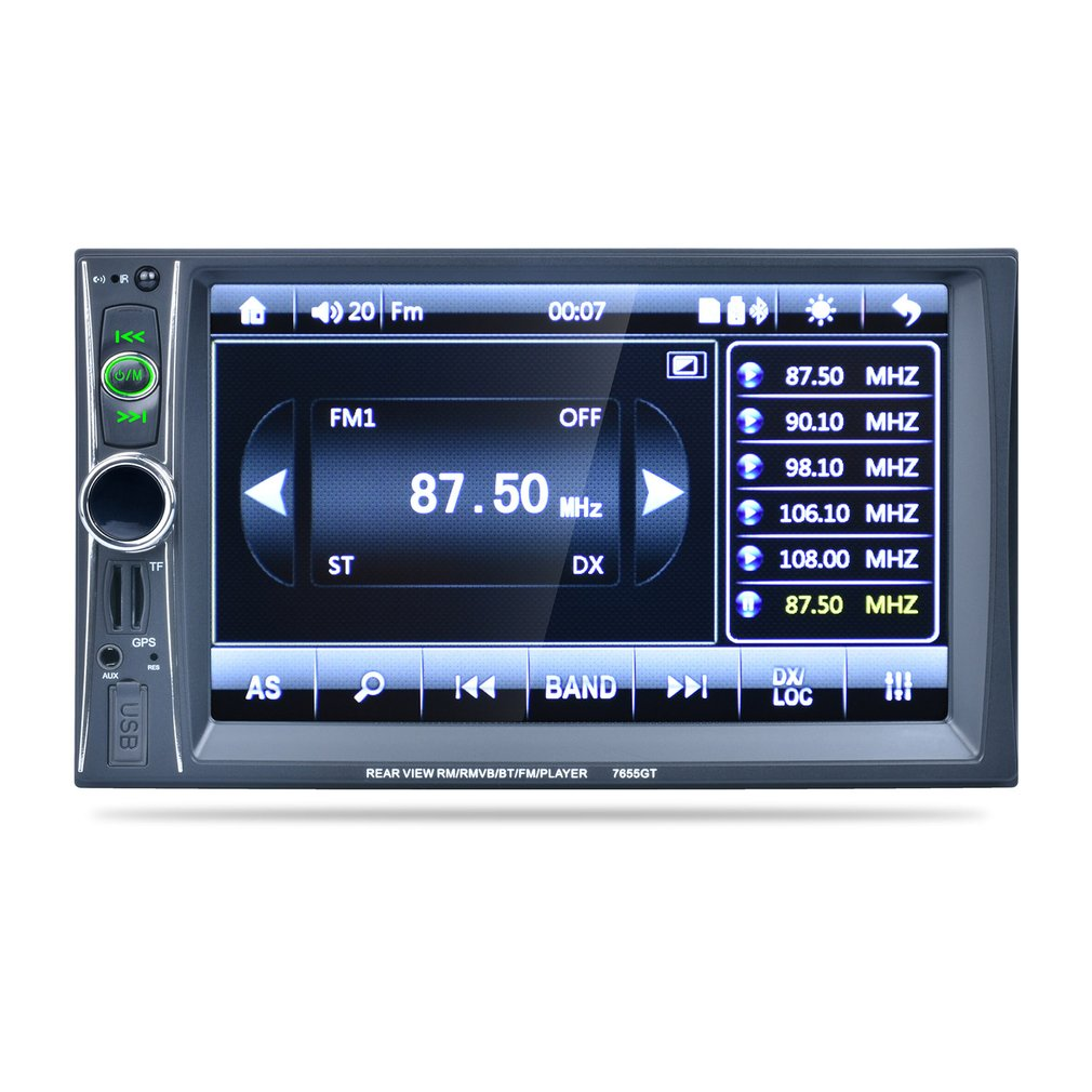 7665GT 2 Din 6.6 Car MP5 Player GPS Navigation Stereo Bluetooth Car Audio Radio Video Player 8GB GPS Map Card7665GT 2 Din 6.6 Car MP5 Player GPS Navigation Stereo Bluetooth Car Audio Radio Video Player 8GB GPS Map Card