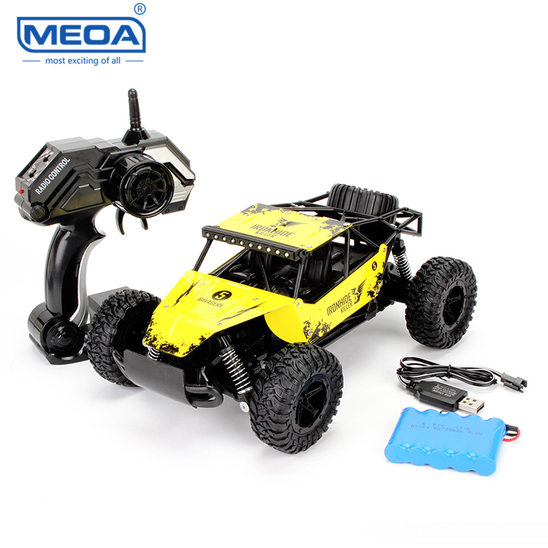 1:16 2.4G RC Racing Car with Metal Shell Remote Control Cars 2WD Electric Toys Truck Shatter-proof Vehicle Toy for Children
