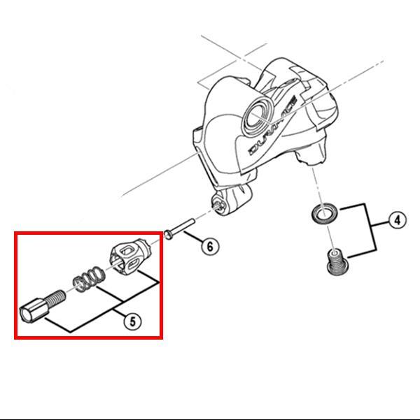 Shimano Repair 5800 UT6800 DA9000 Rear Derailleur