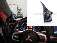 Car Accessories Carbon Fiber 52mm/60mm A Pillar Single Gauge Pod Fit For 2008 2012 Evolution X EVO 10 Interior Trim