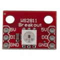 Unique Red WS2812 RGB 5050 LED Breakout module 1.7*1.2cm For arduino Light Weight Easy to Installation