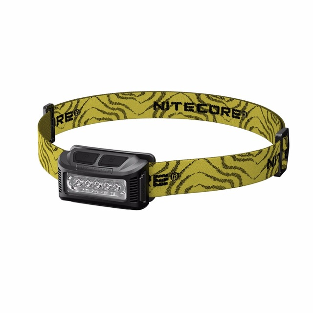 NITECORE High Performance LED Rechargeable Li-io Battery 160 Lumen for Camping Running Fishing Outdoor NU10 HeadLamp Flash Light