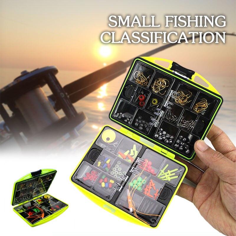 Рыболовная коробка для рыбной ловли, Рыбная Ловля Набор приманок цвет Вертлюги зажимные крючки Ассорти Снасти Коробка приманка рыболовные аксессуары рыболовный крючок