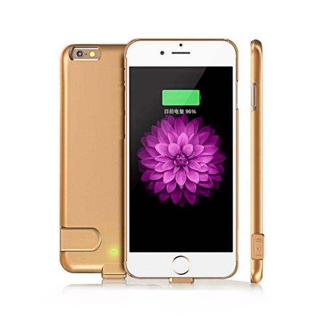 1500 мАч Ультра Тонкий Внешний Корпус Зарядное Устройство Защитный Чехол Power Bank Аккумуляторная Портативный Резервный Аккумулятор для iphone 6/6 s