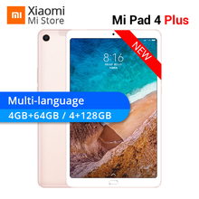 "Xiaomi Mi Pad 4 Plus 64GB/128GB Snapdragon 660 AIE MiPad 4 Plus LTE 8620mAh Battery 10.1"" 16:10 1920×1200 Screen 13MP Tablets 4"