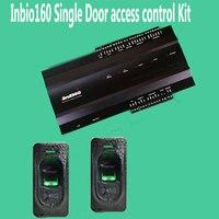 INBIO160 Kit One door Fingerprint Access Control Panel Inbio Access Controller+FR1200 Fingerprint Scanner