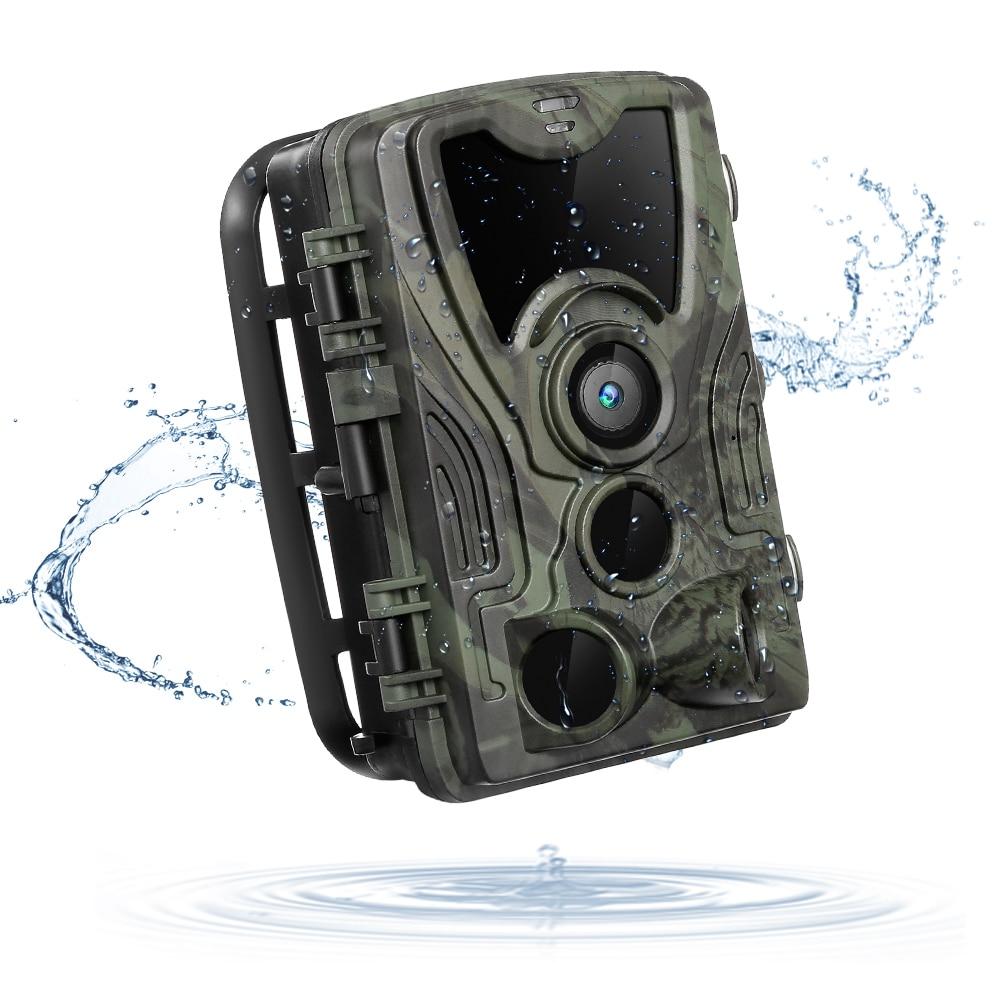 Outlife HC 801A Hunting Camera 16MP 1080P Night Vision Hunting Trail Camera Waterproof Wildlife Surveillance Camera