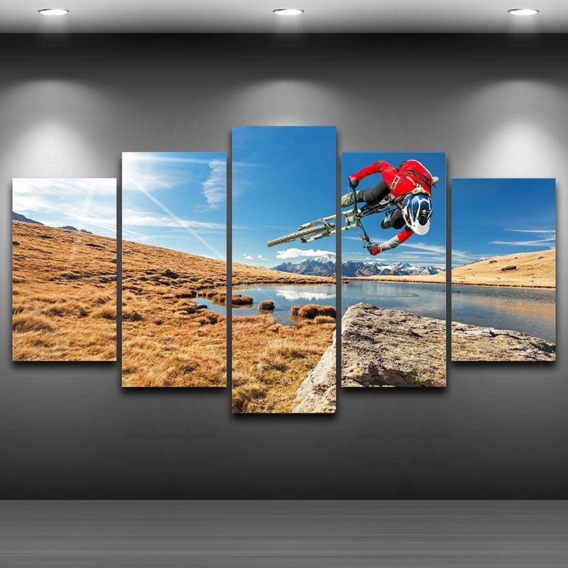 Modular Wall Art Pictures Canvas Hd Printed Painting
