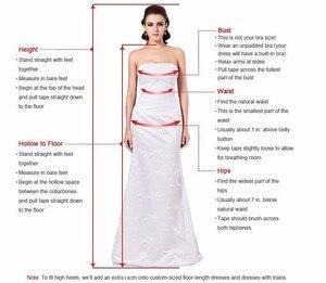 Image 3 - חתונה שמלות לבנון טול אפליקציות שמפניה פרע אורגנזה תפור לפי מידה נפוחה שמלת כלה בתוספת גודל שמלת כלה