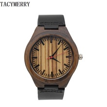 Wooden watch For Mens And Women With Japan MIYOTA 2035 Movement For Boy friends Gifts In  a Idea Box все цены
