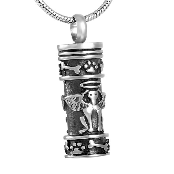 Angel Dog Urn Necklace