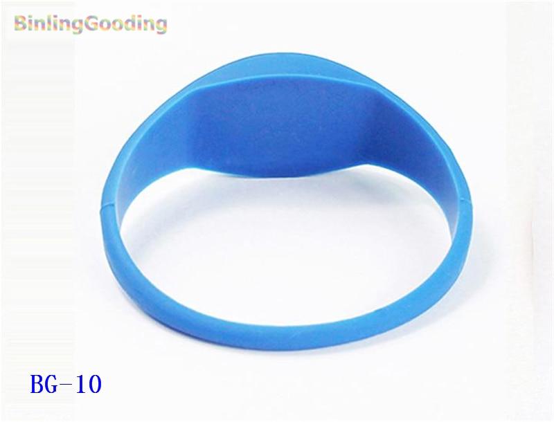 BG-10 100PCS/LOT UHF Alien H3 RFID Wristband Bracelet 1000pcs long range rfid plastic seal tag alien h3 used for waste bin management and gas jar management