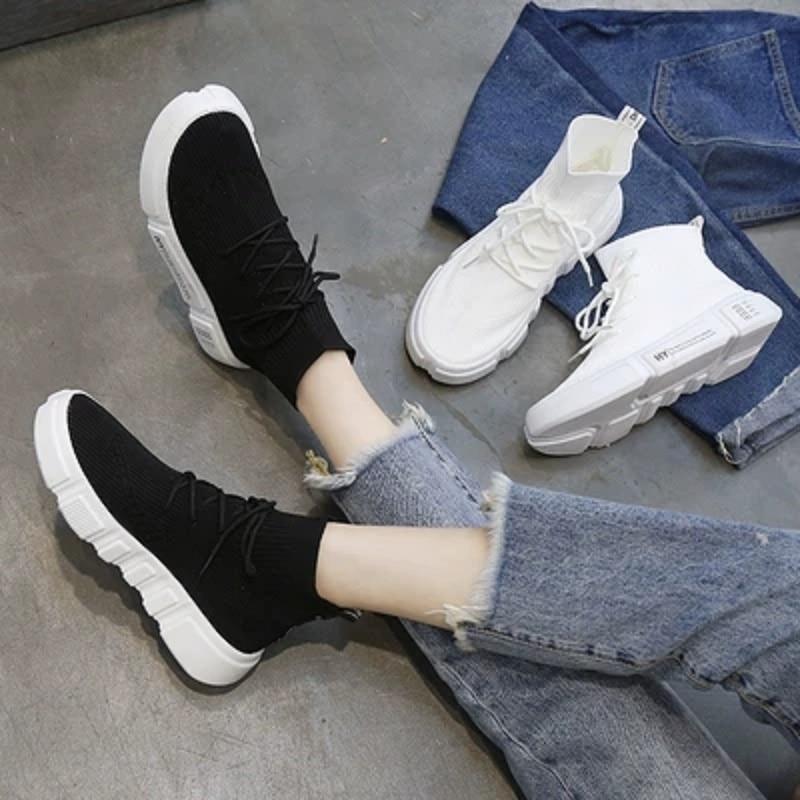 Sauvage Automne De 2018 Version blanc Noir Chaussures Nouveau Coréenne Femelle La Printemps Base Coréen Sauvages wRtrZRFHq