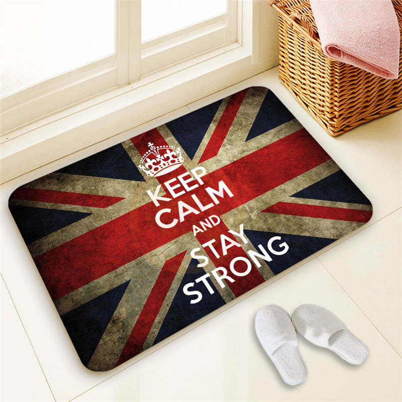 Custom Keep Calm Call Batman DoorMat Art Design Pattern Printed Carpet  Floor Hall Bedroom Cool Pad