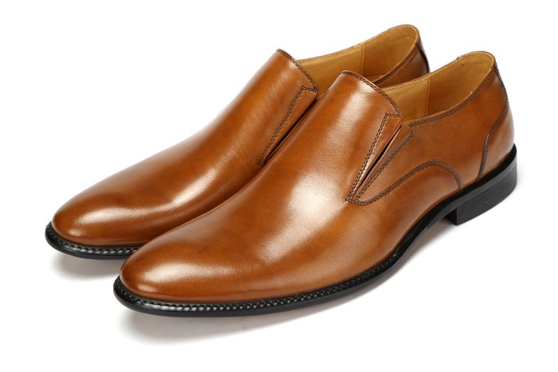 Aliexpress Large Size Eur46 Black Brown Tan Wedding Shoes Mens Business Genuine Leather Dress Office From