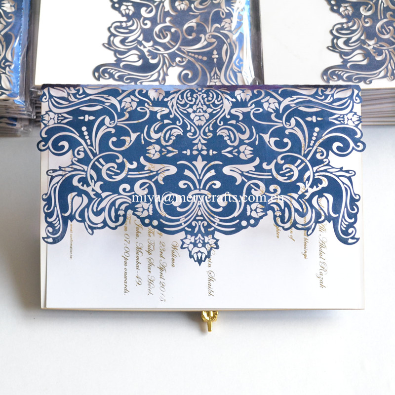 Unique Customized Paper Laser Cut Wedding Invitations Elegant And Simple Greeting Cards For In Invitation From Home Garden On
