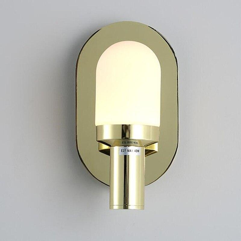 Wamdlamp New Sale Post Modern Simple Nordic Bedroom Study Bedside Aisle Balcony LED Wall Lamp Home