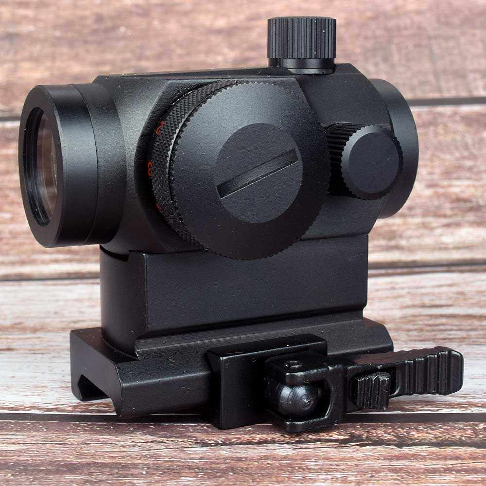 Hunting Optics Tactical Mini 1X22 Red Green Dot Sight 5 models brightness adjustment Riflescope Scope Reflex Lens