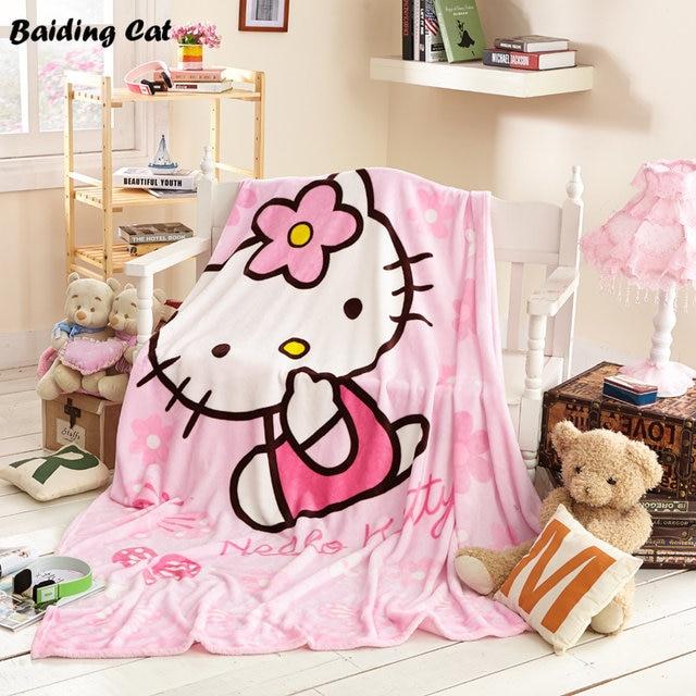 Online Shop Winter Super Soft Minions Blanket Hello Kitty Fleece Best Hello Kitty Fleece Throw Blanket