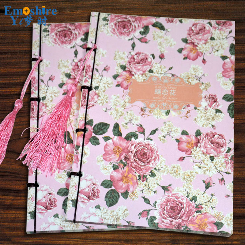 Emoshire Notebook Thicker Fashion Chinese Notebook 80 grams Creative Book Custom Wholesale Memo Pad for School Office N063