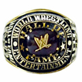 2004 wrestling replication Hall of fame championship ring Champion Statement Men Jewelry