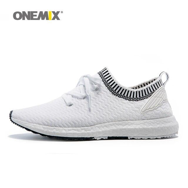 Новое поступление onemix открытый тренер обувь для мужская спортивная обувь для ходьбы среднего повышение женщины бег обувь размер 36-45