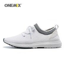 Nueva llegada onemix entrenador zapatos para hombre deporte zapatos para caminar al aire libre medio crecientes mujeres running zapatos tamaño 36-45