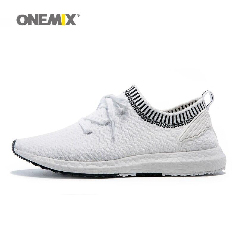 Nueva llegada onemix entrenador zapatos para hombre deporte zapatos para caminar